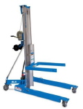Where to rent MATERIAL LIFT, 15  GENIE SLA15 in Columbus GA
