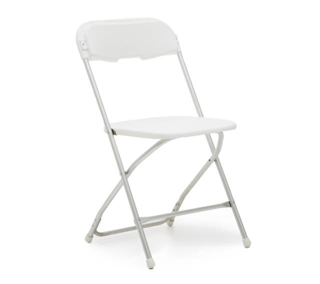 Where to find CHAIR ALUMINUM WHITE in Columbus
