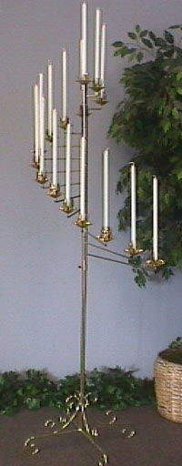Where to find 15 BRANCH BRASS SPIRAL  PAIR in Columbus