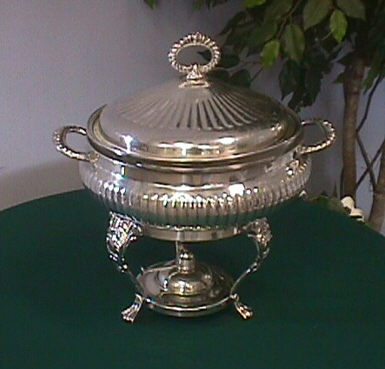 Where to find CHAFING DISH 3 QT. SILVER ROUND W PYREX in Columbus