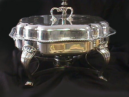 Where to find CHAFING DISH SILVER 6QT. OBLONG in Columbus