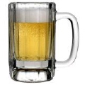 Where to rent BEER MUG GLASS, 16 OZ in Columbus GA