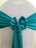 Where to rent SASH DARK TEAL SATIN in Columbus GA