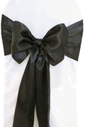 Where to rent SASH BLACK SATIN in Columbus GA