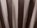 Where to rent 72 X 72 SHEER BROWN STRIPE in Columbus GA