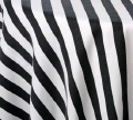 Where to rent 72 X 72 BLACK WHITE STRIPE POLY in Columbus GA
