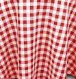 Where to find 120 RND POLY RED WHITE GINGHAM in Columbus