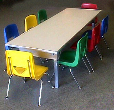 Where to find TABLE CHILDRENS 24  X 72 in Columbus