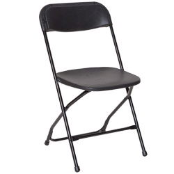 Where to find CHAIR BLACK VINYL in Columbus