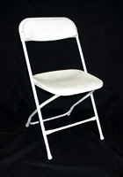 Where to find CHAIR WHITE VINYL in Columbus