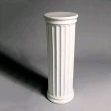 Where to find COLUMNS 40  ROUND TOP WHITE in Columbus