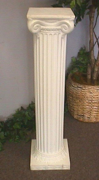 Where to find COLUMN 40  SQUARE TOP  EA  WHITE in Columbus