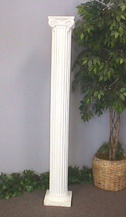 Where to find COLUMNS, WHITE 6  TALL  PAIR in Columbus
