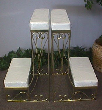 Where to find KNEELING BENCH, BRASS  PAIR in Columbus