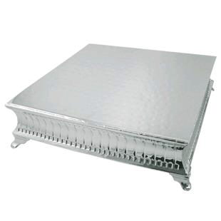 Where to find 22 X 22 X 5 1 2 SILVER CAKE RISER in Columbus