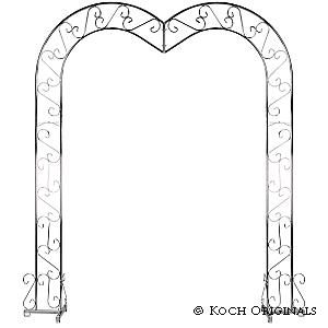 Where to find HEART ARCH W2 STANDS NICKEL in Columbus