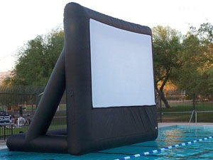 Where to find INFLATABLE MOVIE SCREEN 10 X 7.5 in Columbus
