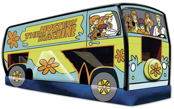 Where to find SCOOBY DOO MYSTERY MACHINE in Columbus