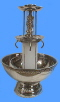Where to rent 5 GALLON FOUNTAIN S S W SILVER TRIM in Columbus GA