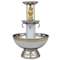 Where to rent 5 GALLON FOUNTAIN S S W GOLD TRIM in Columbus GA