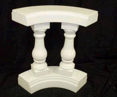 Where to find BALUSTRADE, SOFT CURVE  WHITE in Columbus